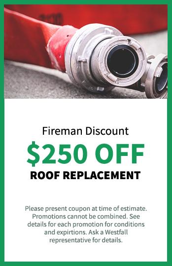 $250 Fireman Discount