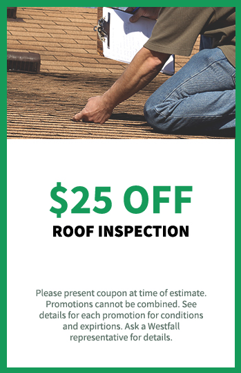 $25 off Roof Inspection