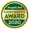 Angies List SuperService Award 2020